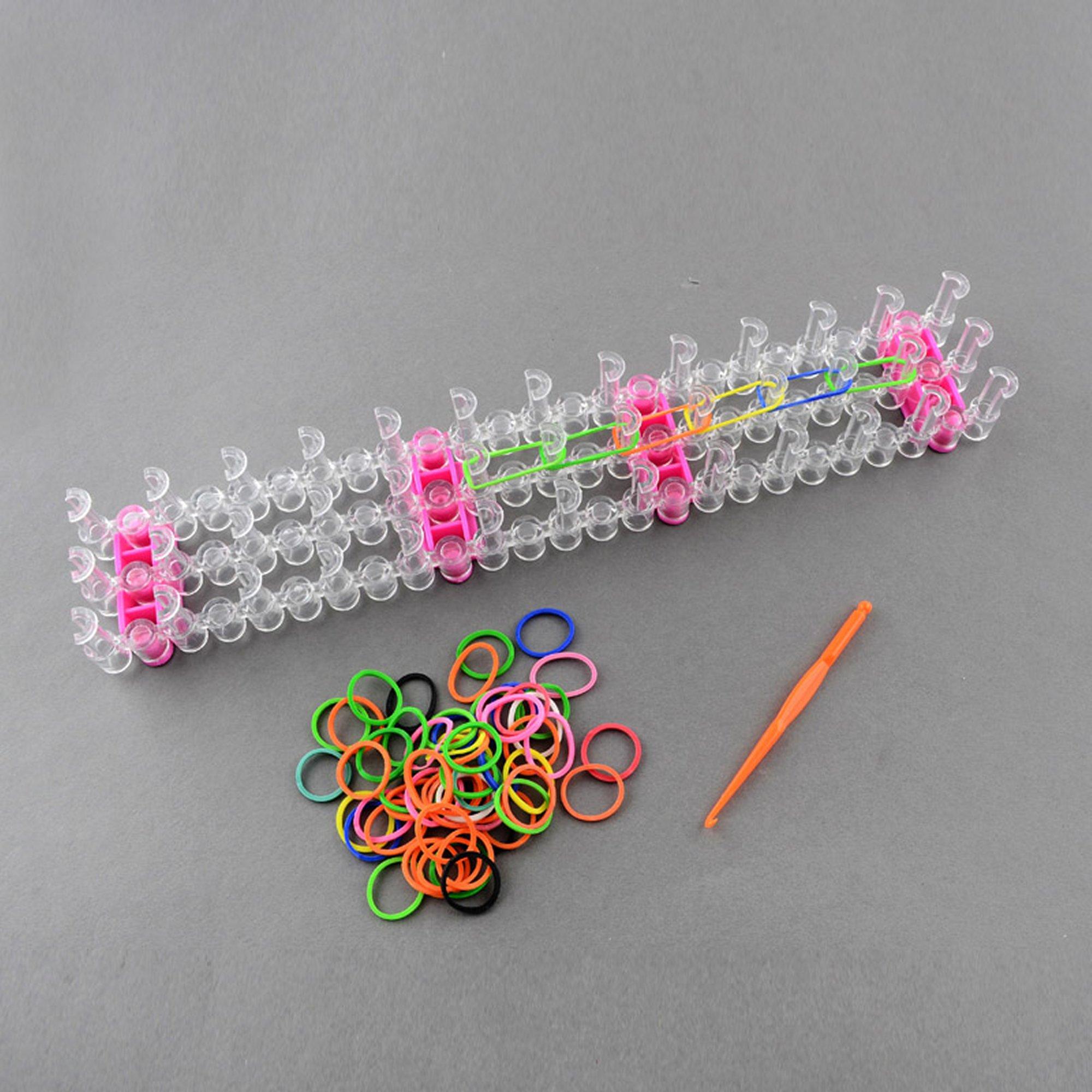 Colourful Adjustable Loom Band Kit