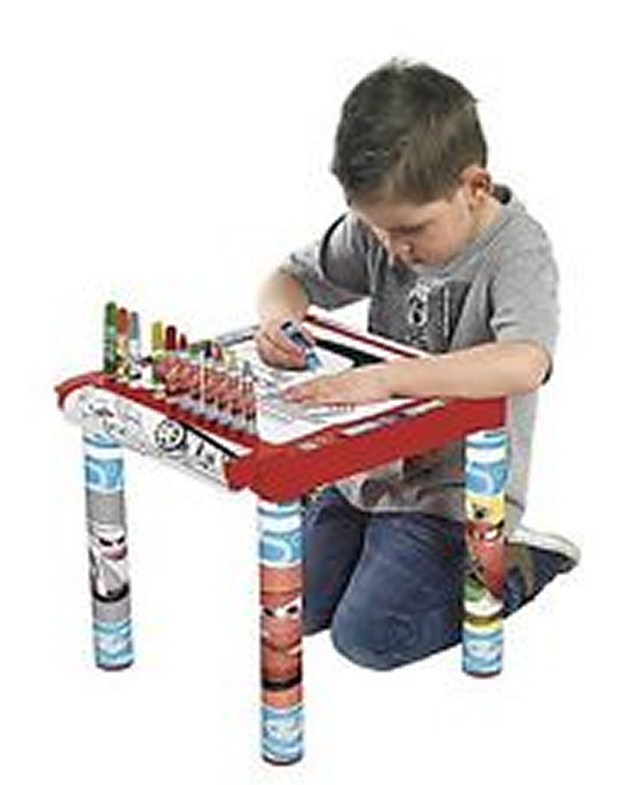 Disney Pixar Cars Kids Activity Drawing Table Colouring Desk