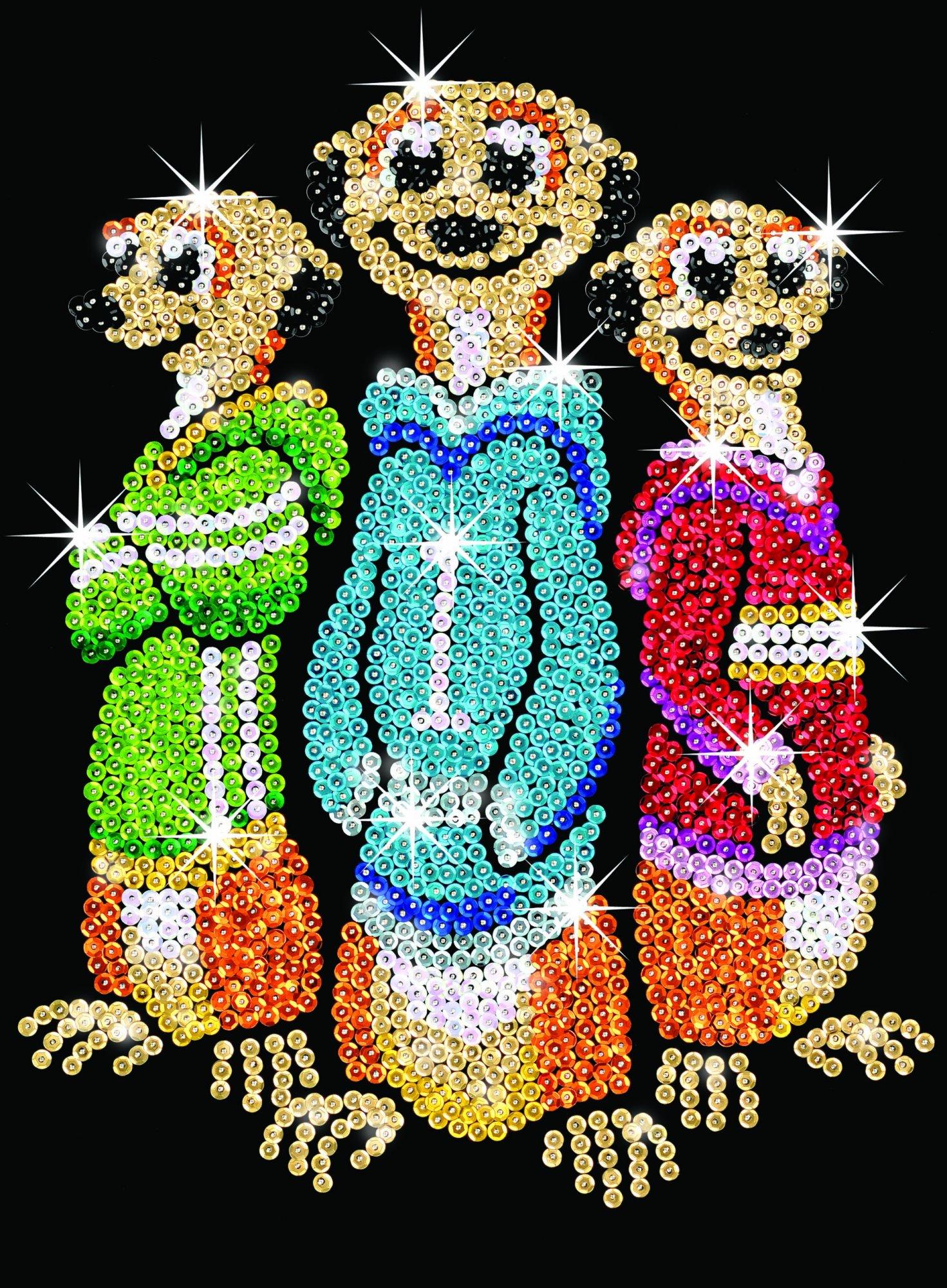 Sequin Art Rascals Meerkats 1008