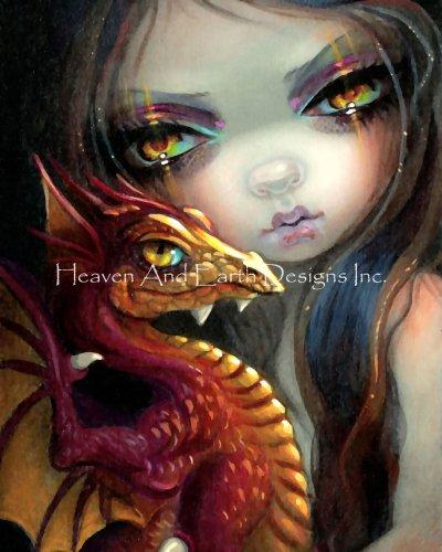 Mini Golden Eyed Dragonling