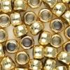 METALLIC GOLD PONY BEADS