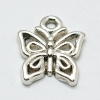 Tibetan Silver Colour Butterfly Charm