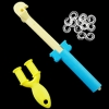 Mini Loom and Hook, Mini Slingshot Loom and S-Clips