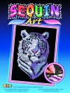 Sequin Art Snow Tiger 1217