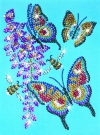Sequin Art and Beads Butterflies 0510