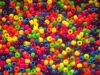 OPAQUE NEON MIXED PONY BEADS
