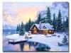 5D DIY Diamond Painting Scenery Snow (#06)