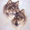 5D DIY Diamond Painting Wolf (#12)