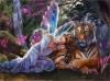 5D DIY Diamond Painting Fairy Tiger Fantasy (#1)