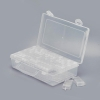 Plastic Beads Storage Case, 64 flip lid Containers