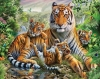 5D DIY Diamond Painting Tiger (#15)
